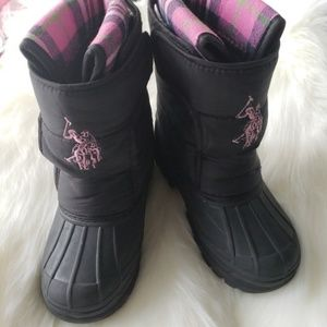 U.S POLO ASSN. Toddler Snow boots
